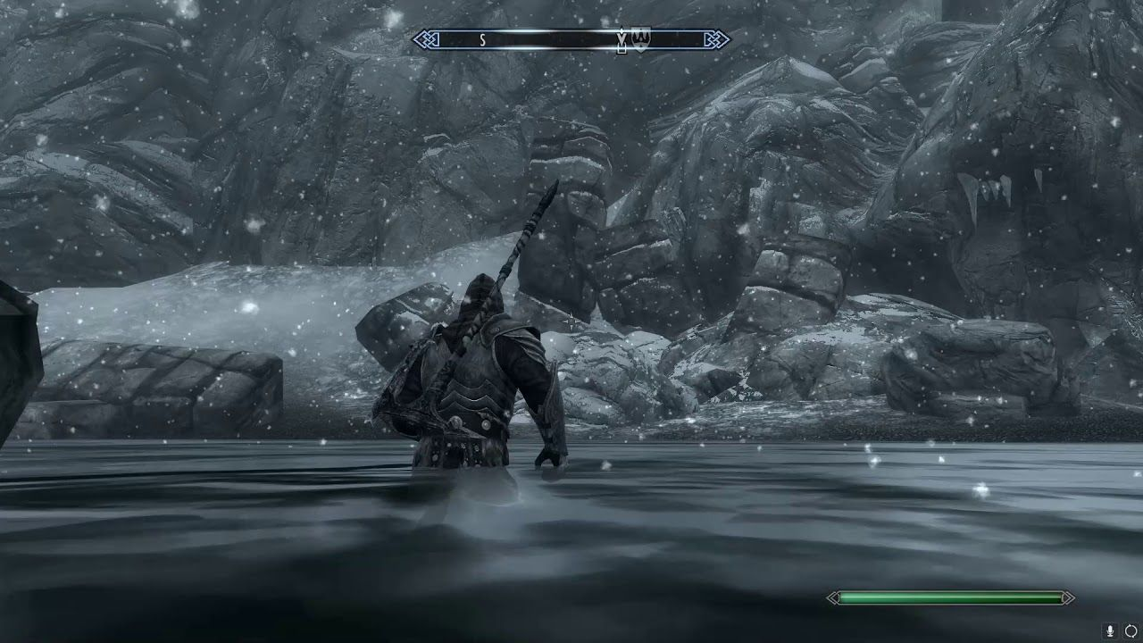 best play to freefall in skyrim and live with whirlwind sprint shout