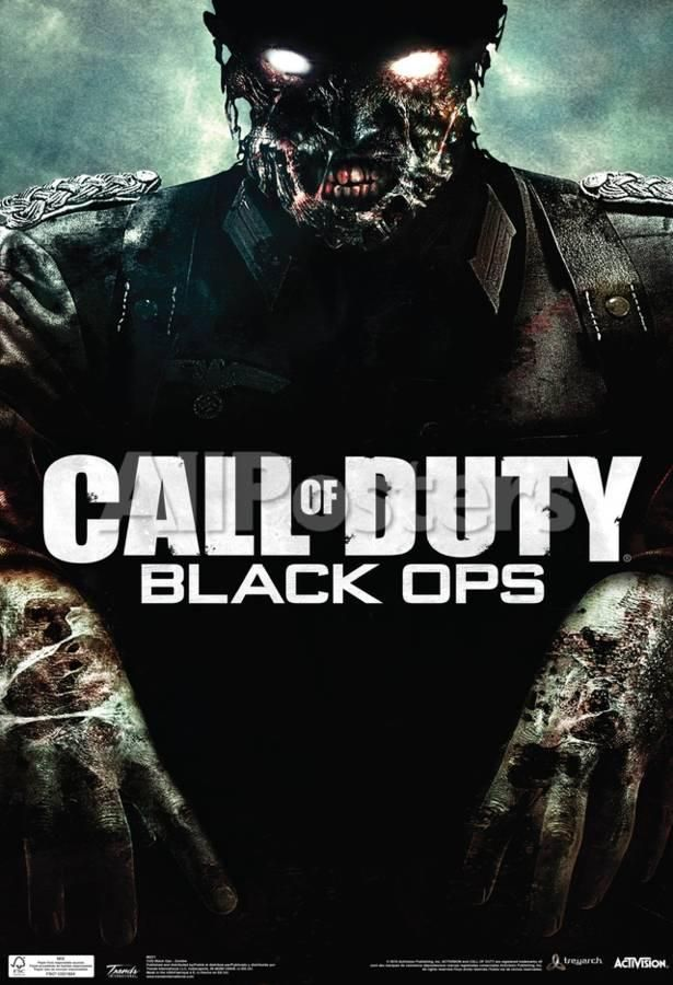 Call Of Duty Black Ops Zombie Video Game Poster Posters At Allposters Com Black Ops Zombies Call Of Duty Black Video Game Posters