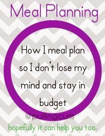 How I Create Healthy Family Meal Plan On A Budget