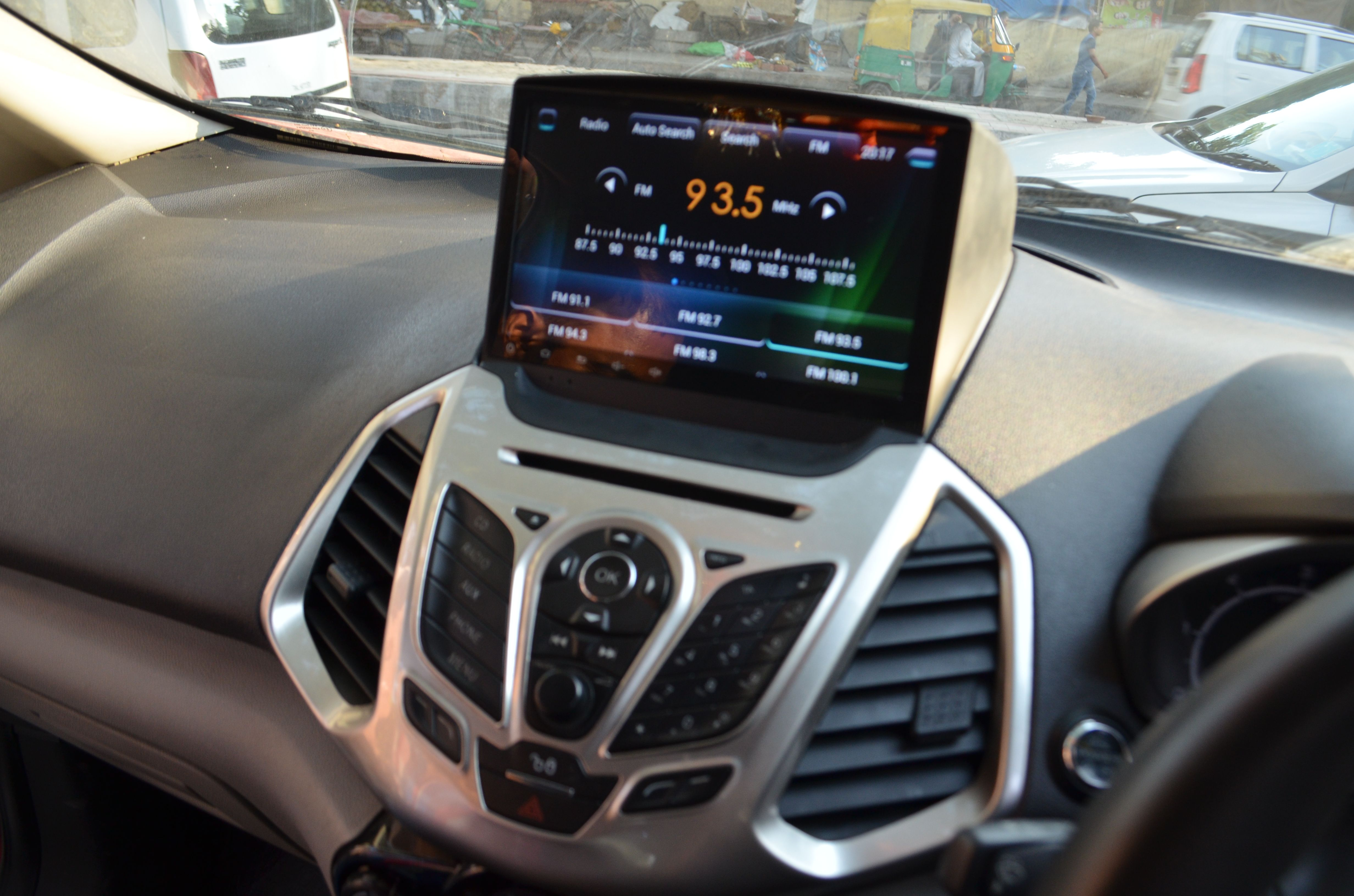 Fitted kmh multimedia player 9 inch android_system 5 0 in ford ecosport