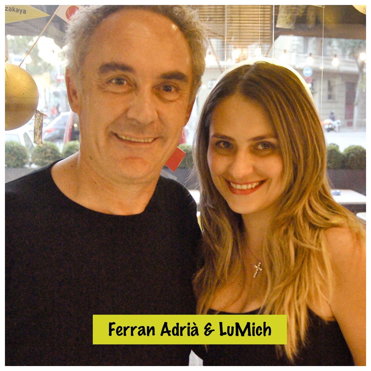 Ferran Adrià é fashion