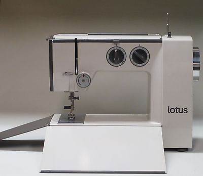 ELNA LOTUS SP PORTABLE SEWING MACHINE ORIGINAL ACCESSORIES FOOT FEED New Elna Lotus Sp Portable Sewing Machine