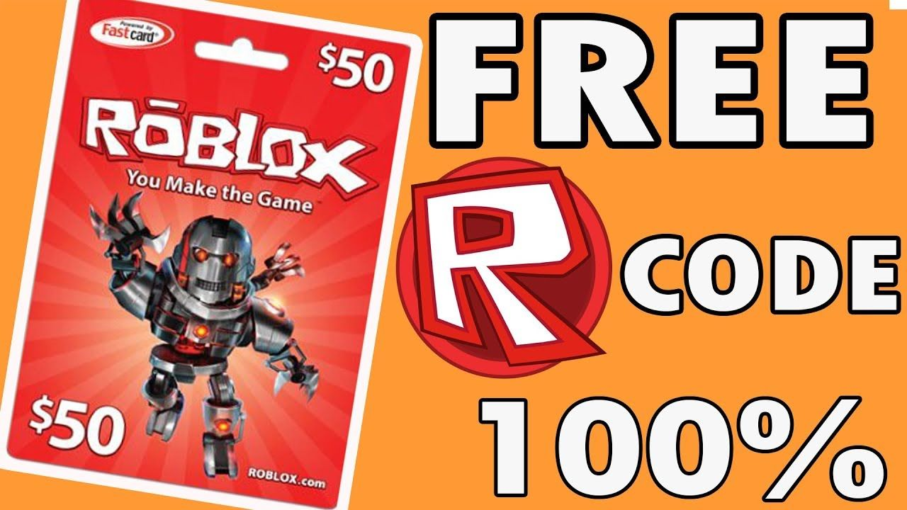 Free roblox gift card 2018 100 workingjust click this