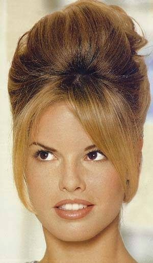 How To Do A Beehive Updo Ehow Beehive Hair 1960 Hairstyles 1960s Hair