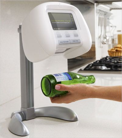 Ikan is a barcode scanner. Mount it in your kitchen. When you are out…