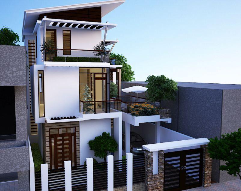 Image Result For Casas De Tres Niveles Pequenas Fachadas De