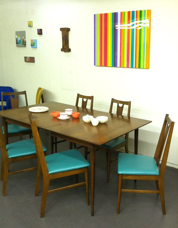 23+ Mid century modern dining table and chairs Ideas