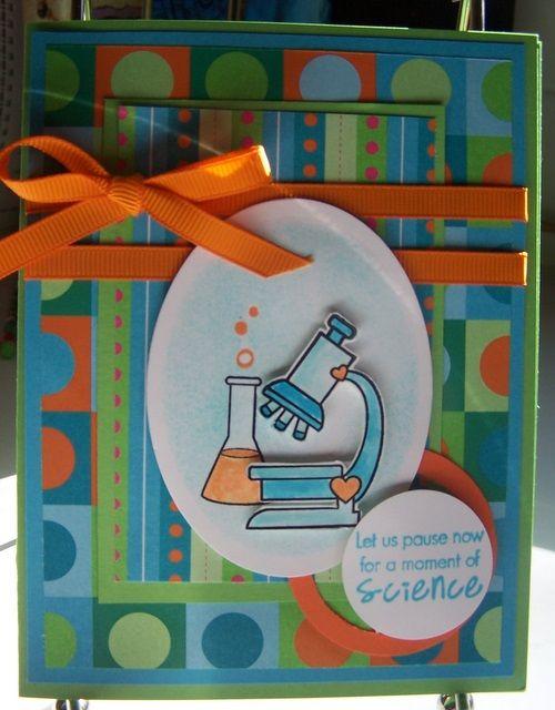 Science Teacher Card Birthday Cards Diy Teacher Cards Cards