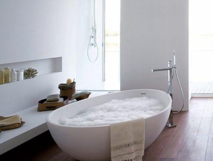 La baignoire ovale - les meilleurs idées pour votre salle de bains