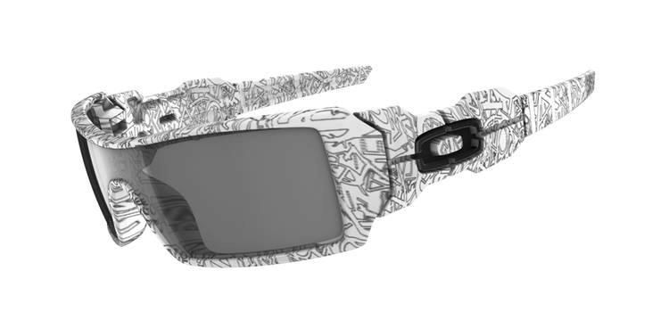 oakley sunglasses coloring pages | Oakley OIL RIG | STANDARD Frame | color : WHITE WITH TEXT ...