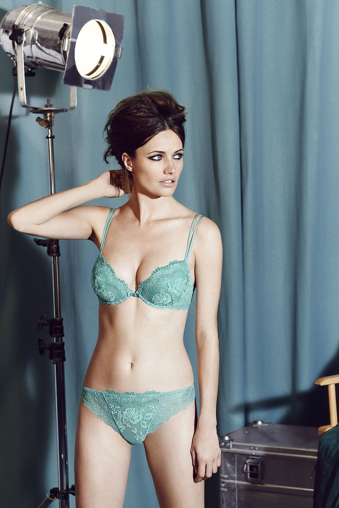 official Lingerie website model