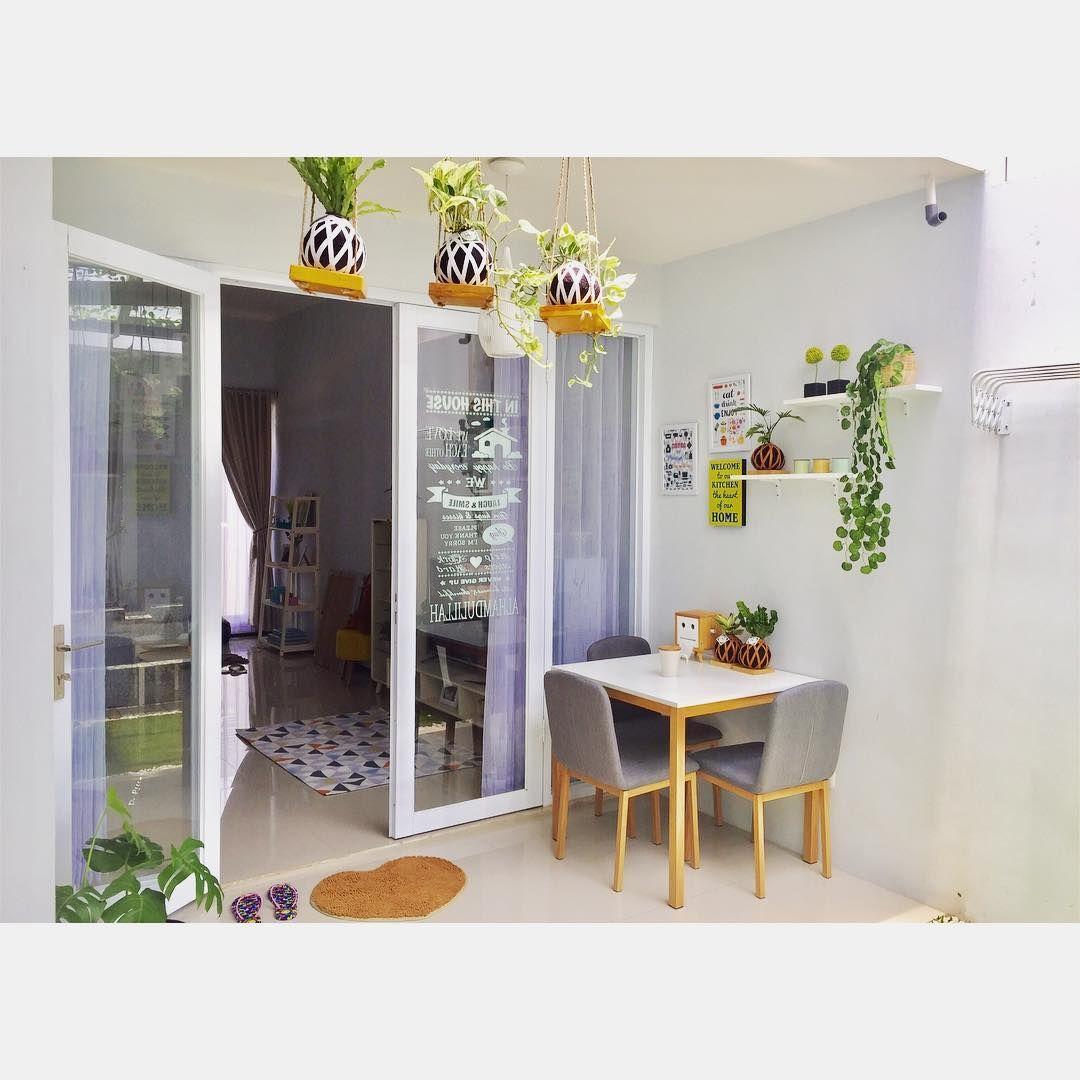 Desain Rumah Unik Tipe 45 m Meski Mungil, Ada Indoor