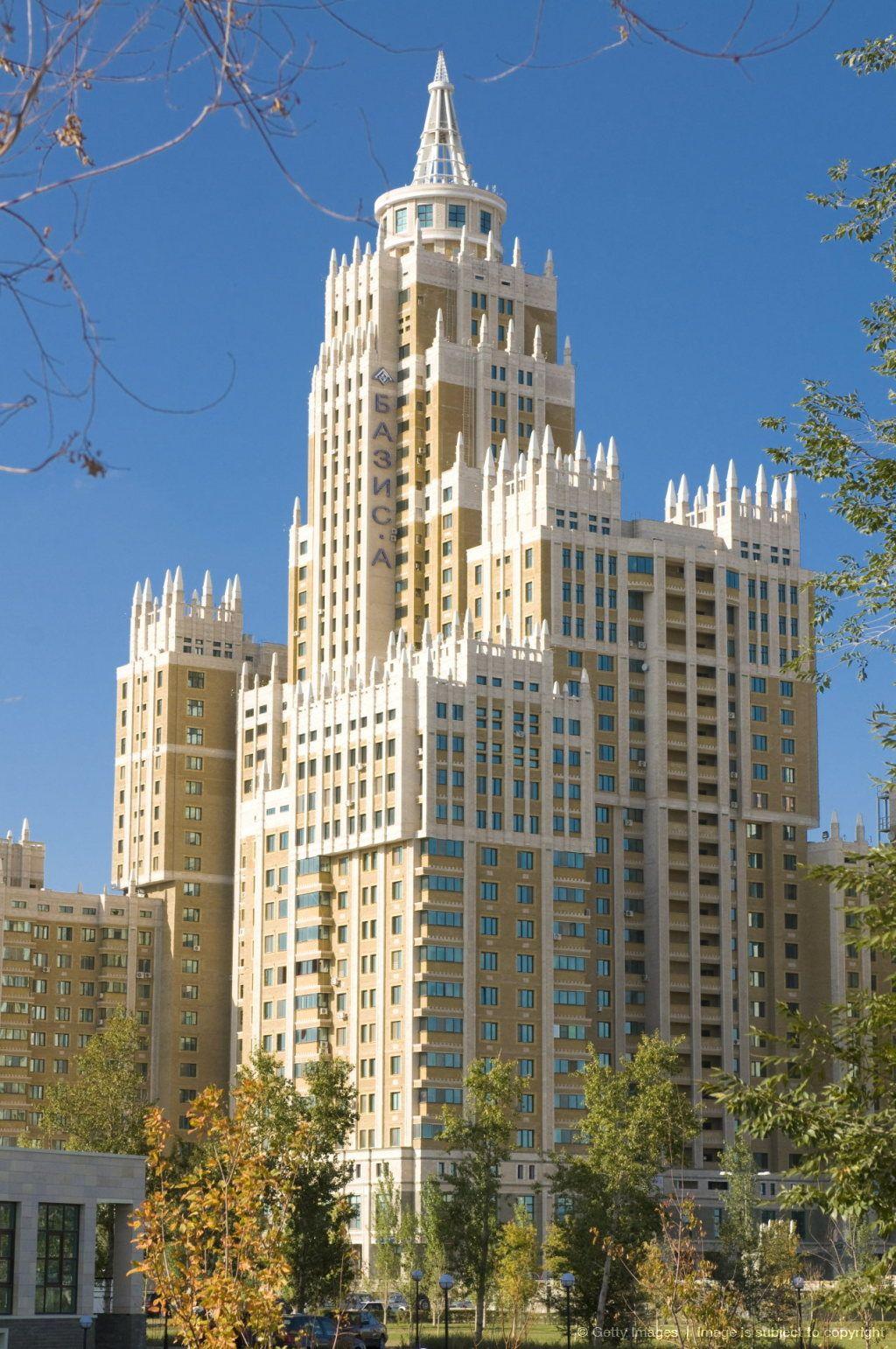 Astana tower, Astana, Kazakhstan, Central Asia