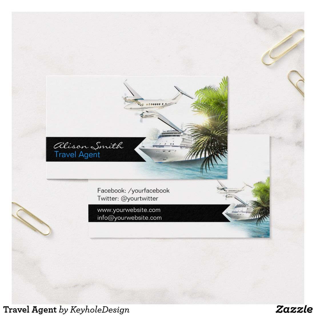 Travel Agent Business Card | Pinterest | Business cards and Business
