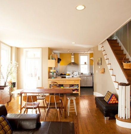Philadelphia Row Homes | DesignNehez | Row Homes | Room interior ...