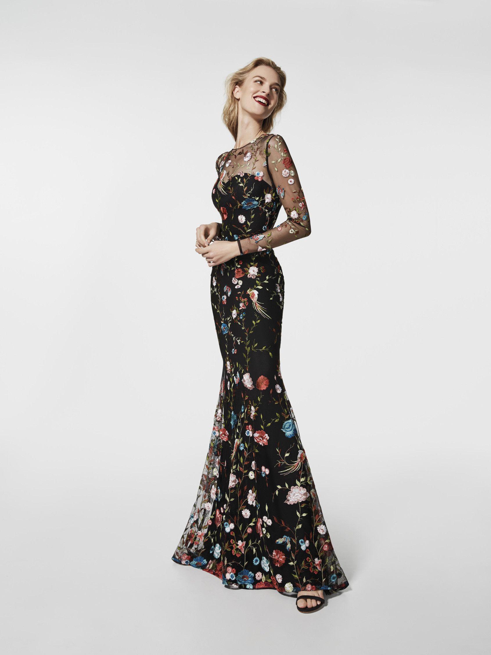 Estás buscando un vestido de fiesta? Este vestido largo de color ...