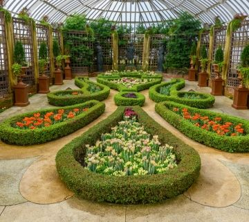 Spring Flower Show Masterpieces In Bloom Phipps Conservatory And