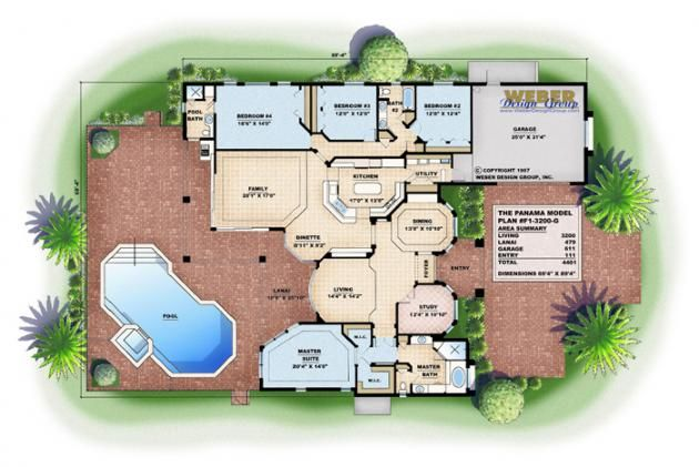 Panama House Plan House Plans Custom Home Designs How To Plan