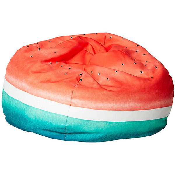 Bean Bag Cover 150lt Watermelon Target Australia (350 TWD) ❤ liked on Polyvore featuring home, furniture, chairs, beanbag furniture, bean-bag chair and bean bag