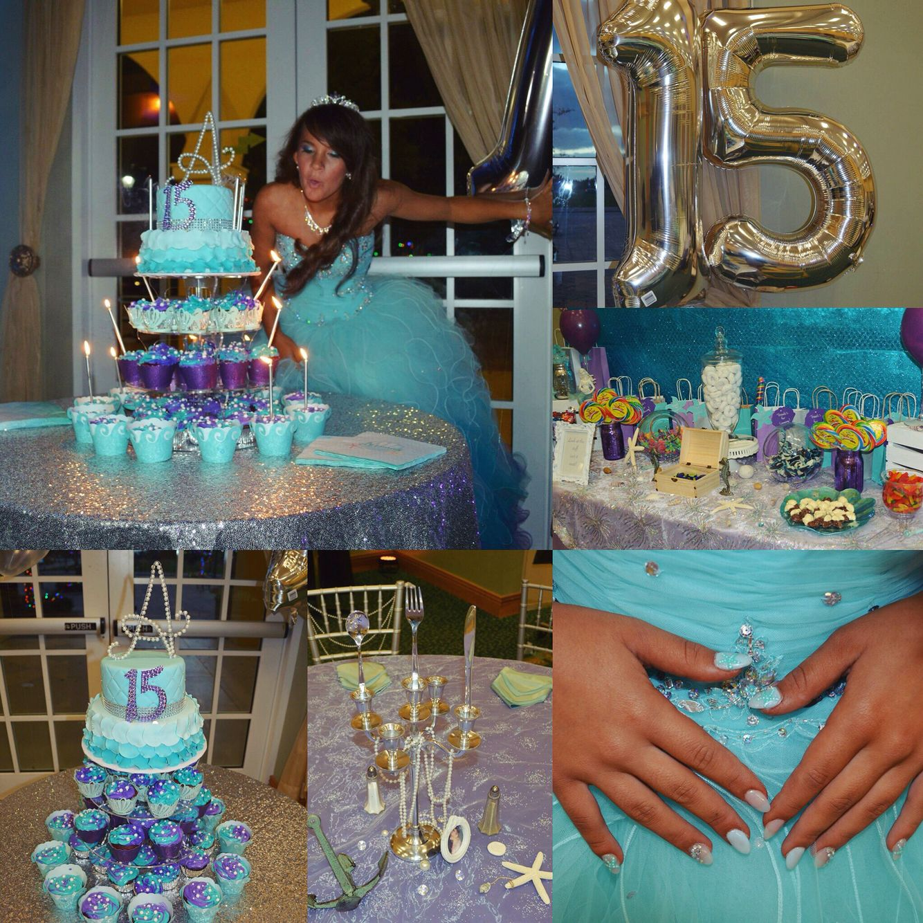 Angel S Under The Sea Themed Quinceanera Quinceanera Themes