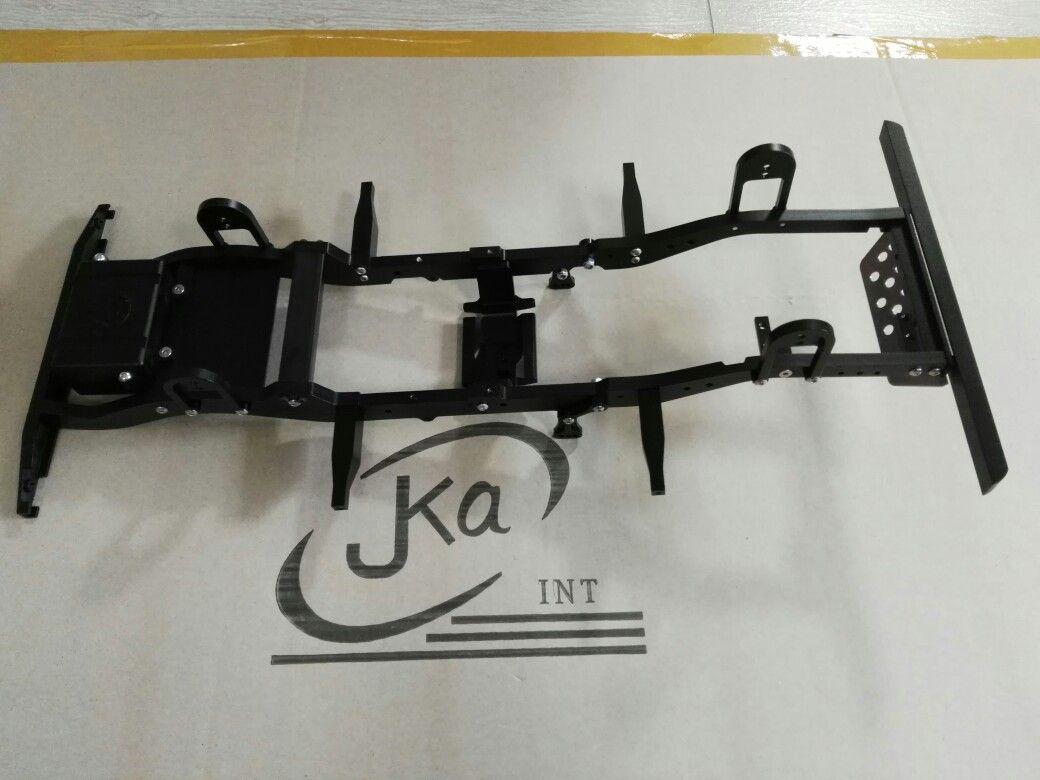 JKA bullet alloy 1/10 scale D90 gelande 2 chassis frame