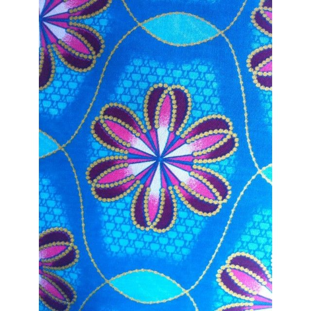 African Print Cloth Wax Print Super Nice Fabric Cotton Wedding Church swd21215a