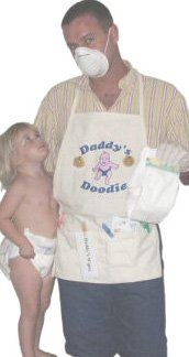 Daddy S Diaper Doodie Apron Unique New Dad Gag Gift