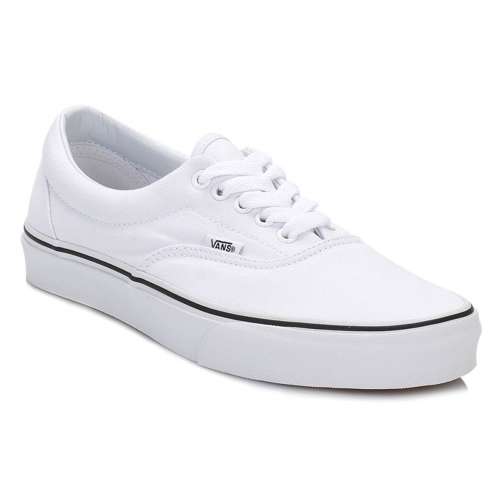 Vans True White Era Trainers | Vans, Sneakers, White vans