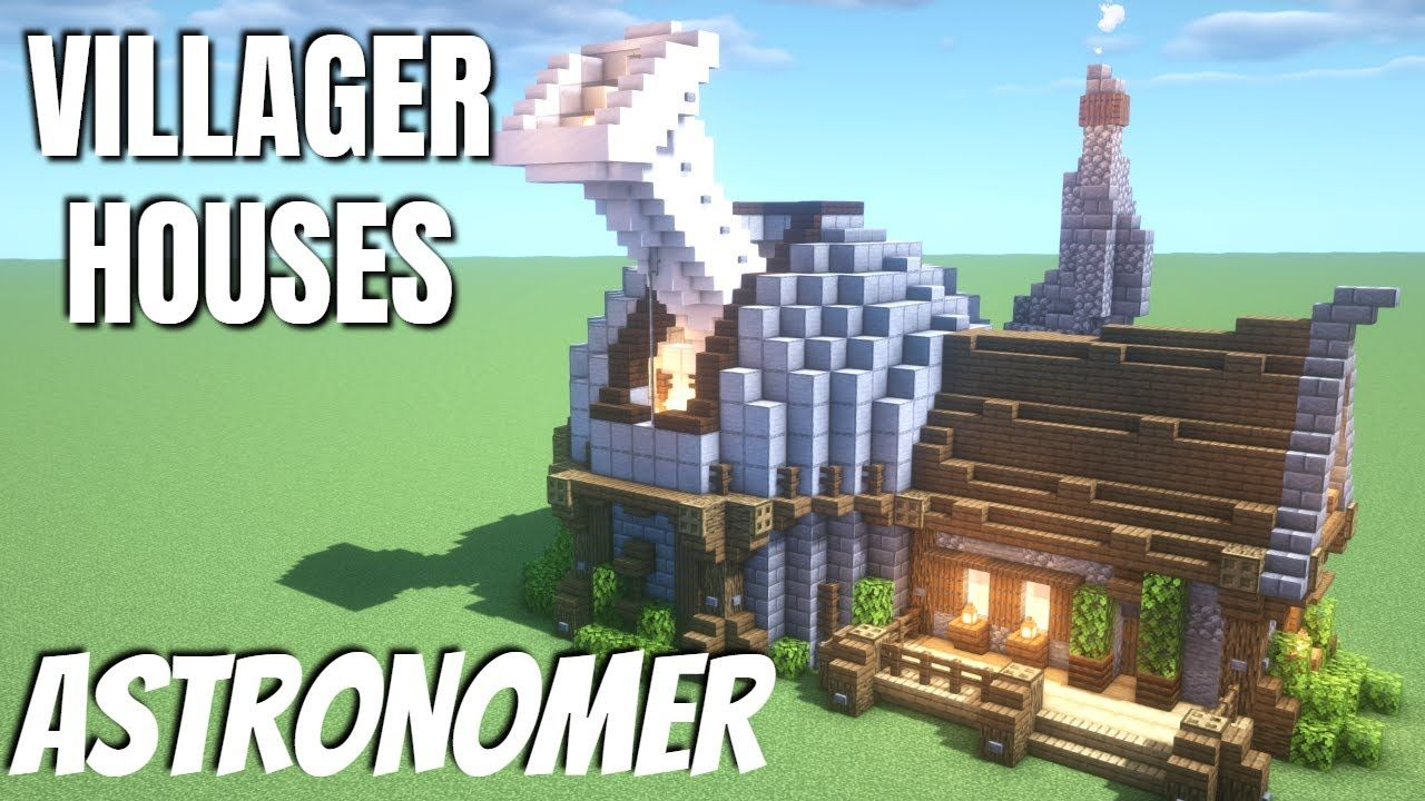 Minecraft Villager Houses How to build a Minecraft Observatory Custom Villager House & Town