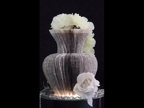 book folding art origami sculpture youtube b cher falten pinterest pliage livre et. Black Bedroom Furniture Sets. Home Design Ideas