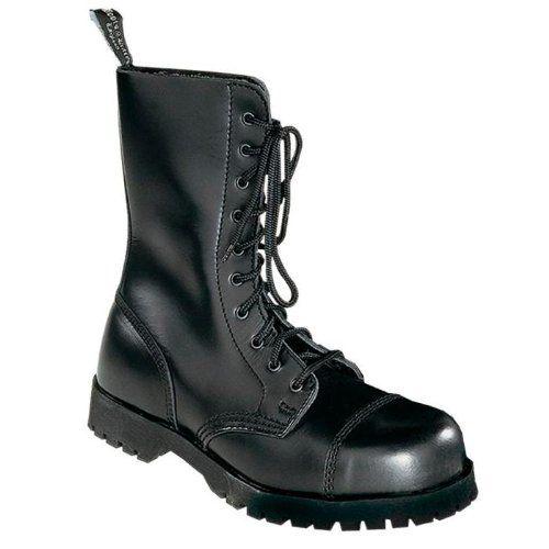 Boots  Braces Stiefel 8-Loch Rangers Schwarz