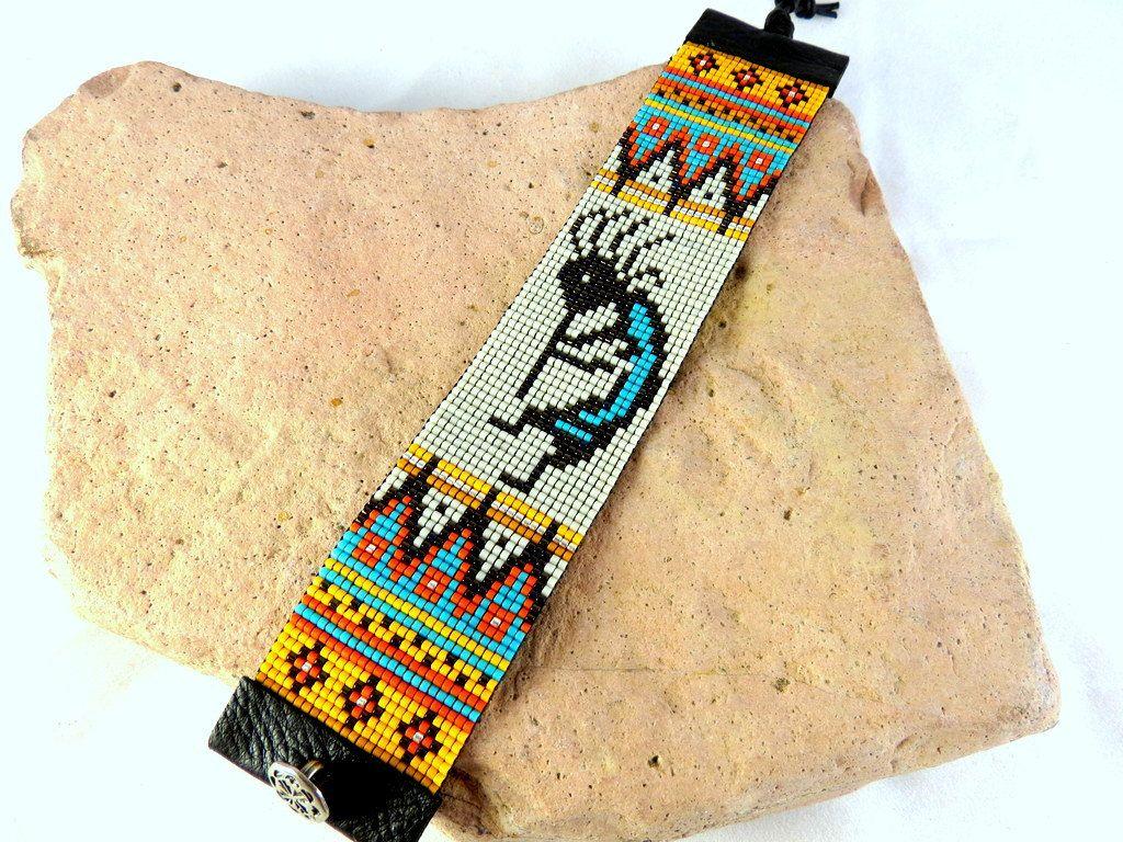 Southwest Loomed Bracelet Bead Loom Bracelet Native