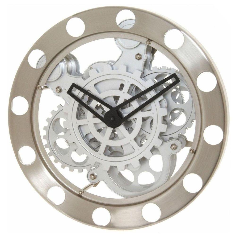 Kikkerland Spinning Gears Wall Clock Gear Wall Clock Contemporary Wall Clock Wall Clock