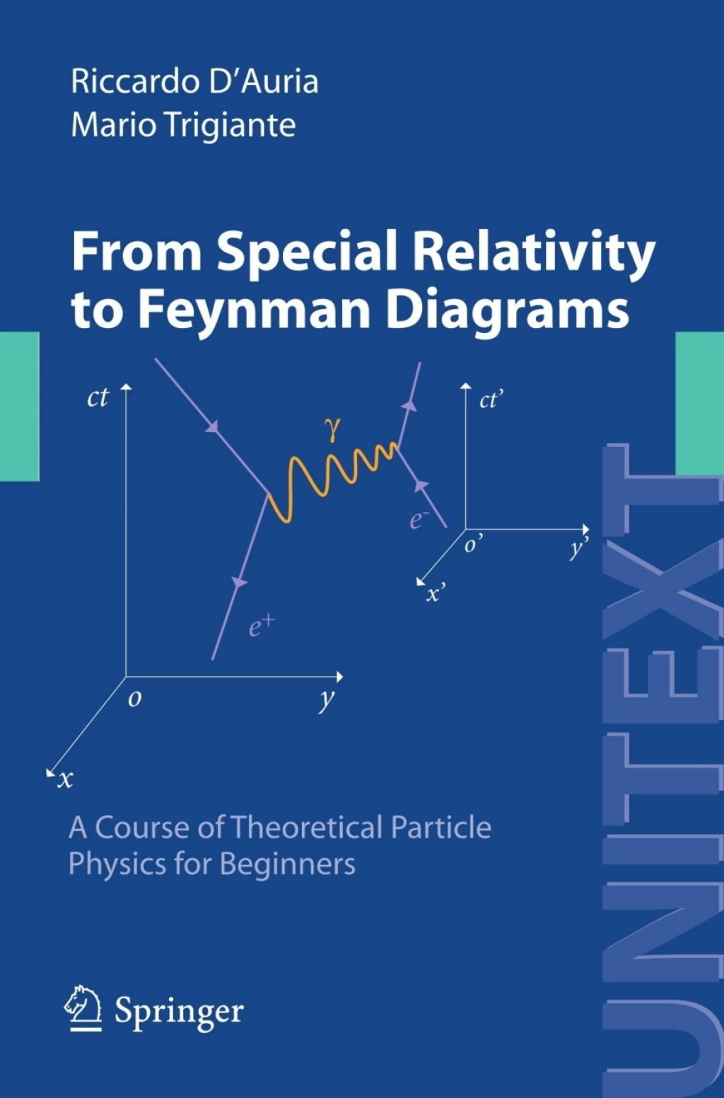 From Special Relativity To Feynman Diagrams  Ebook