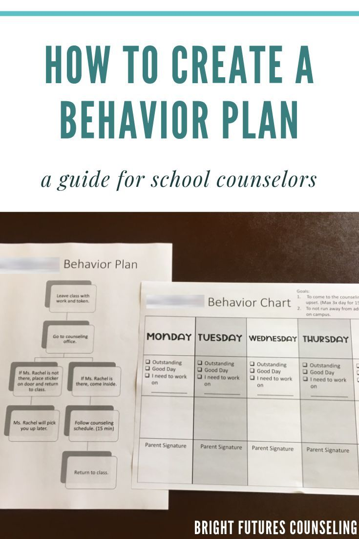 Tips for creating a behavior plan in a pinch! Check out this blog post to learn how to easily create
