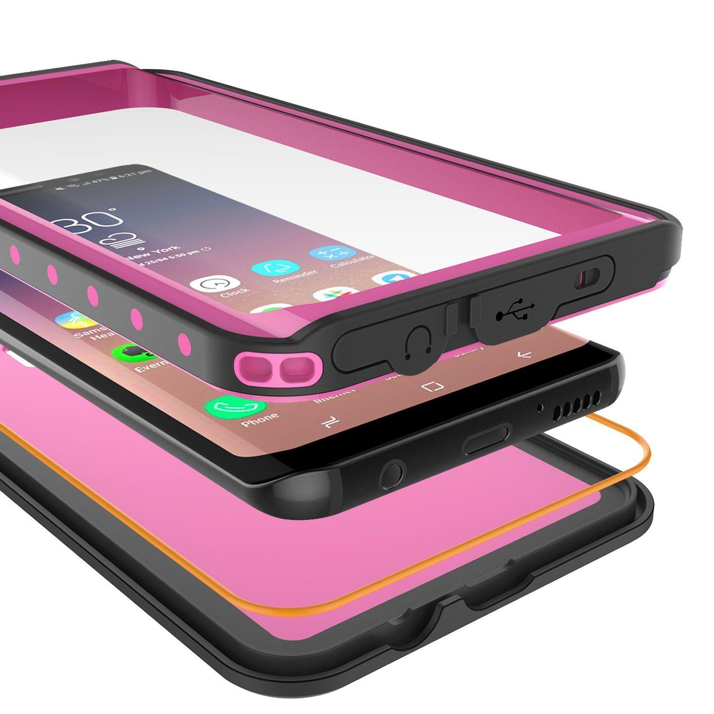 newest e7edc 12b7e Galaxy S9 Waterproof Case PunkCase StudStar Pink Thin 6.6ft ...