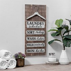 Laundry Wall Plaque Galvanized Metal Laundry Wall Plaque  2017 Laundry  Pinterest