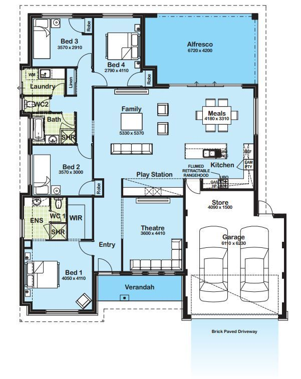 modern home floor plans #modernhome #floorplan