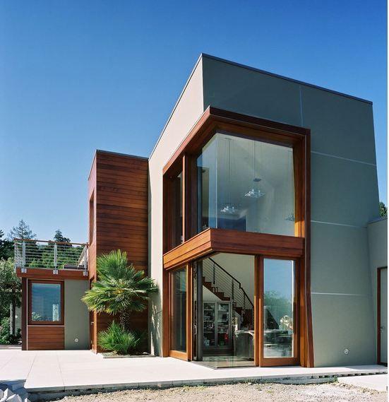 [E20] Concrete panels with EasyTrim Reveals between them