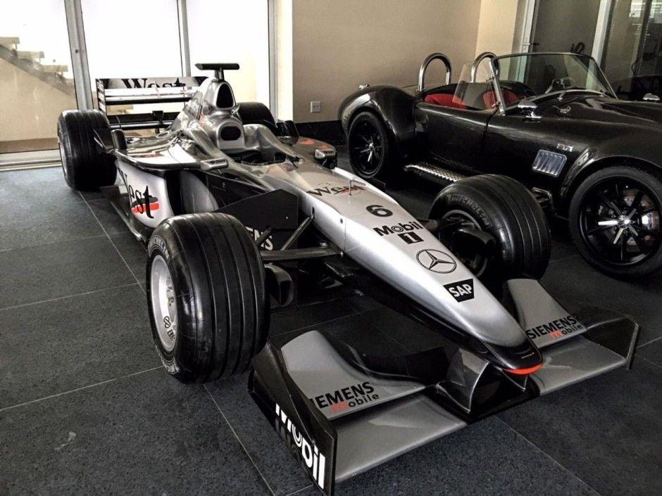 F1 mika hakkinen enchère for sale | McLaren | Pinterest | F1