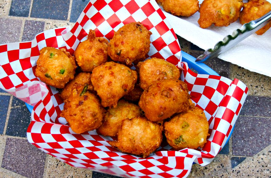 Hushpuppies Life Love And Good Food Hush Puppies Recipe Food Side Dish Recipes