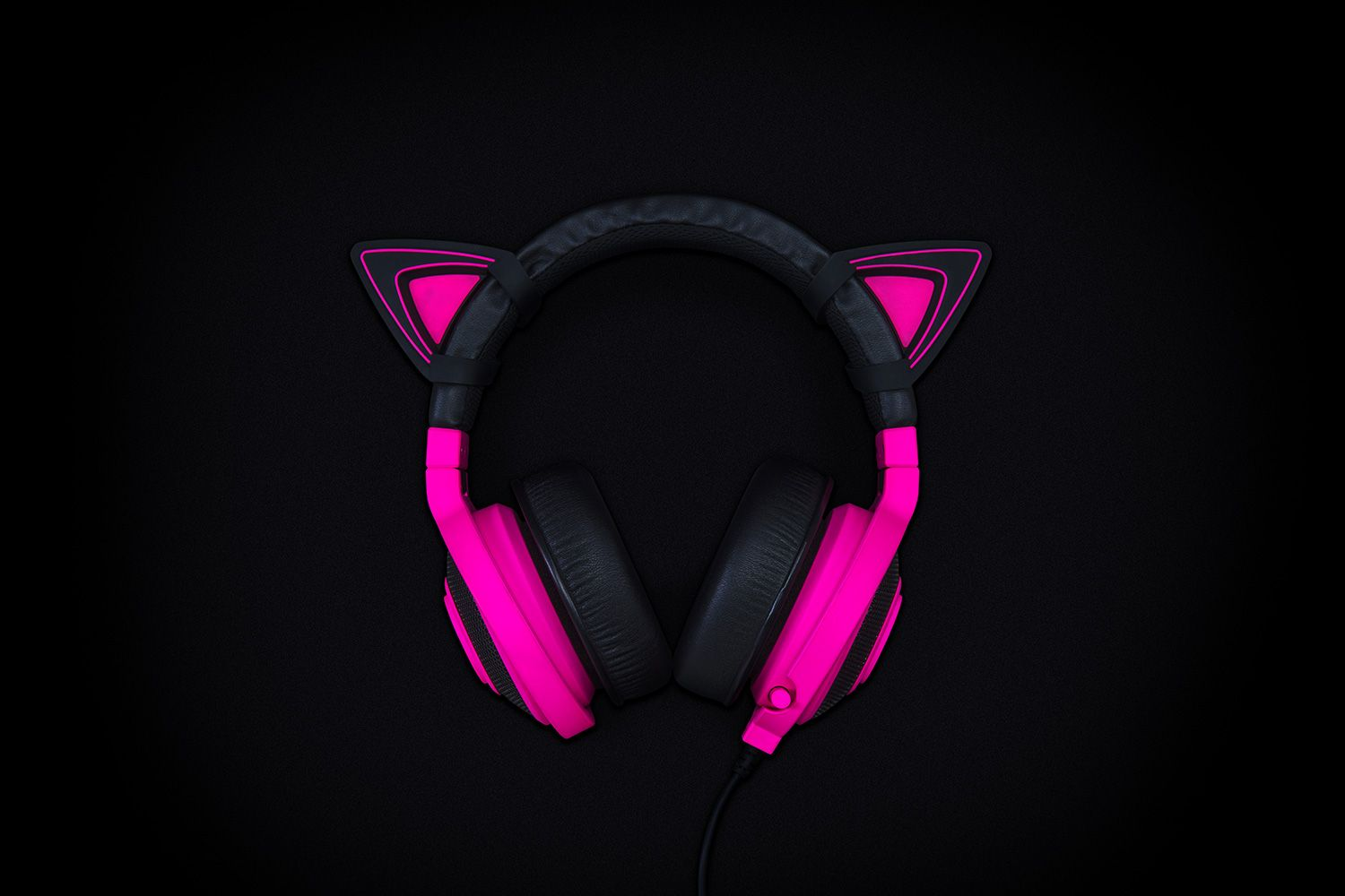 Kitty Ears For Razer Kraken Green Audio Kraken Razer Ear