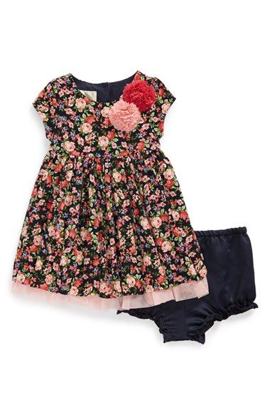 Free shipping and returns on Pippa & Julie Floral Dress (Baby Girls) at Nordstrom.com. A darling fit-and-flare shape, a sweet floral print and a playful tulle underlay—this short-sleeve dress has everything she needs for picture days, parties or that next family gathering.