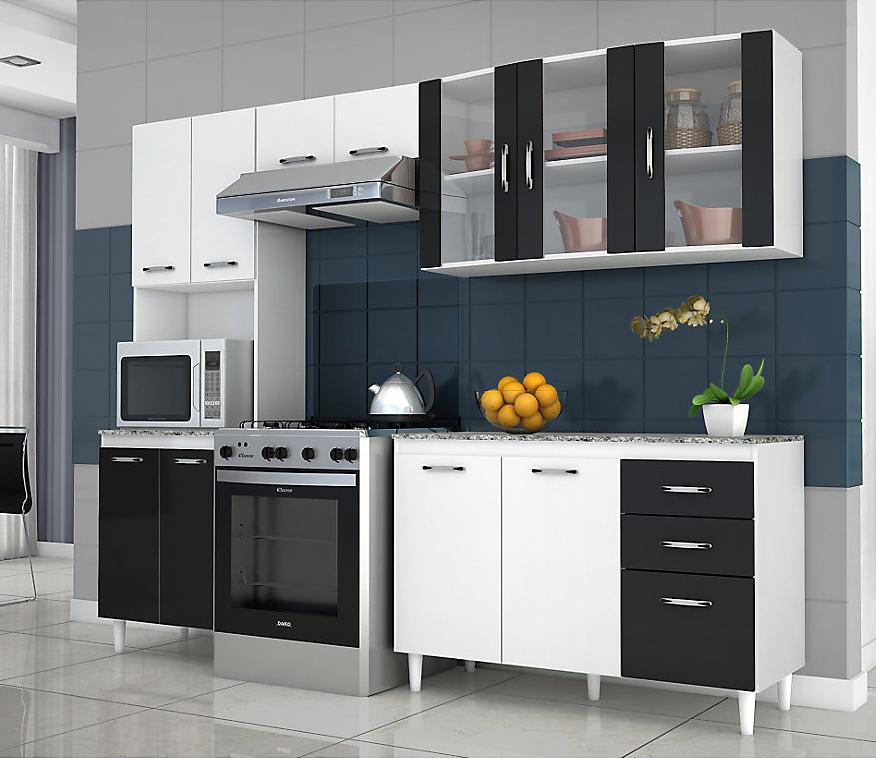 Favatex kit mueble cocina bremen 11 puertas departamentos santiago y cocinas - Muebles de cocina en kit ...