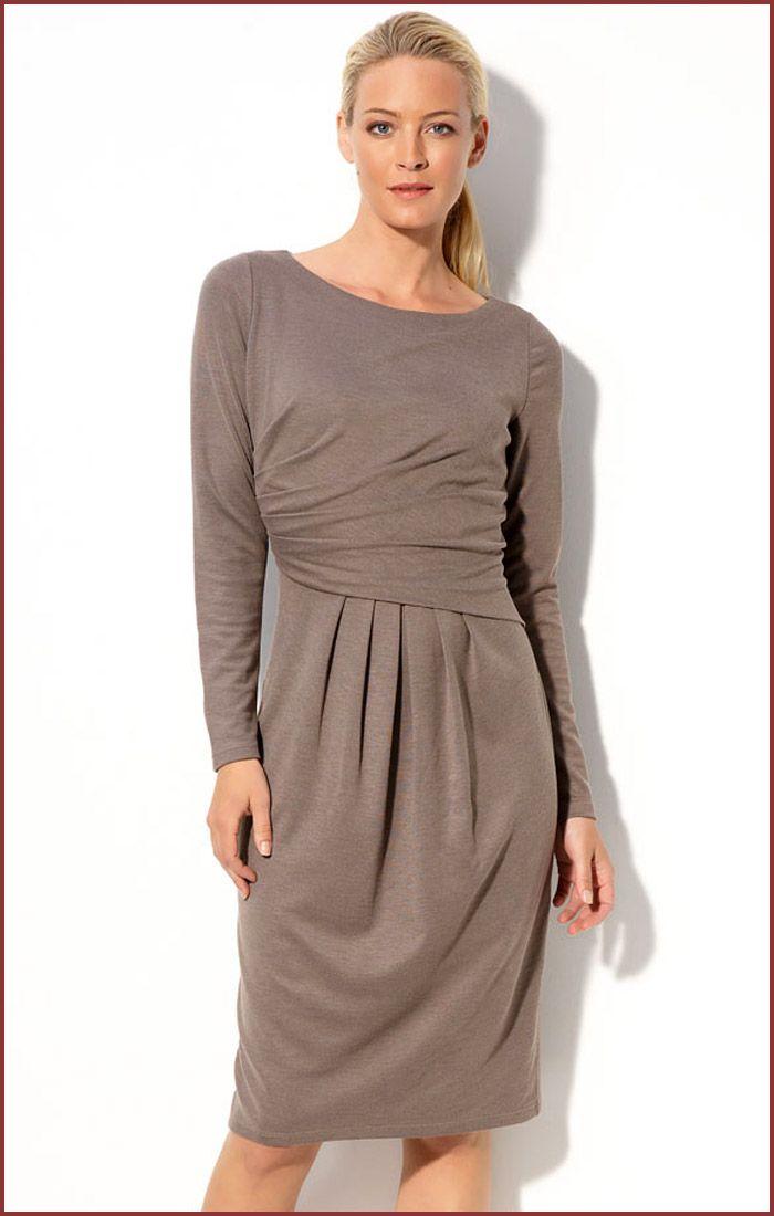 knit dresses | Ronen Chen Long Sleeve Jersey Knit Cocktail Dress ...