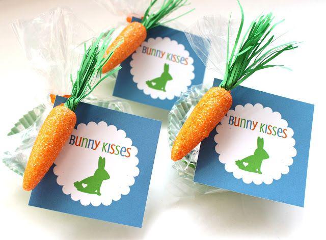 Easter printable tags bunny kisses treat bags printable tags delightfully noted easter printable tags bunny kisses treat bags negle Gallery