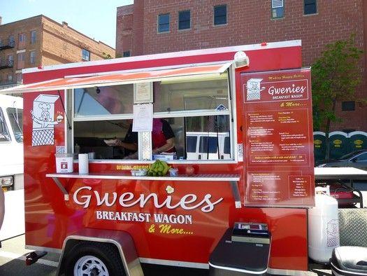 Gwenie's Breakfast Wagon food truck | food truck festival troy 2013 gwenies