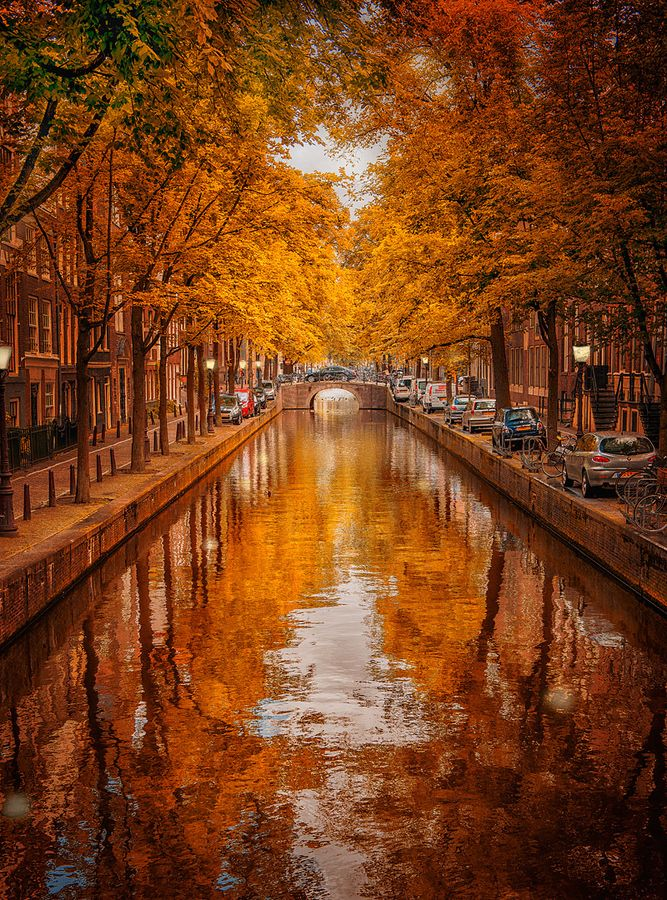 Amsterdam, en el otoño