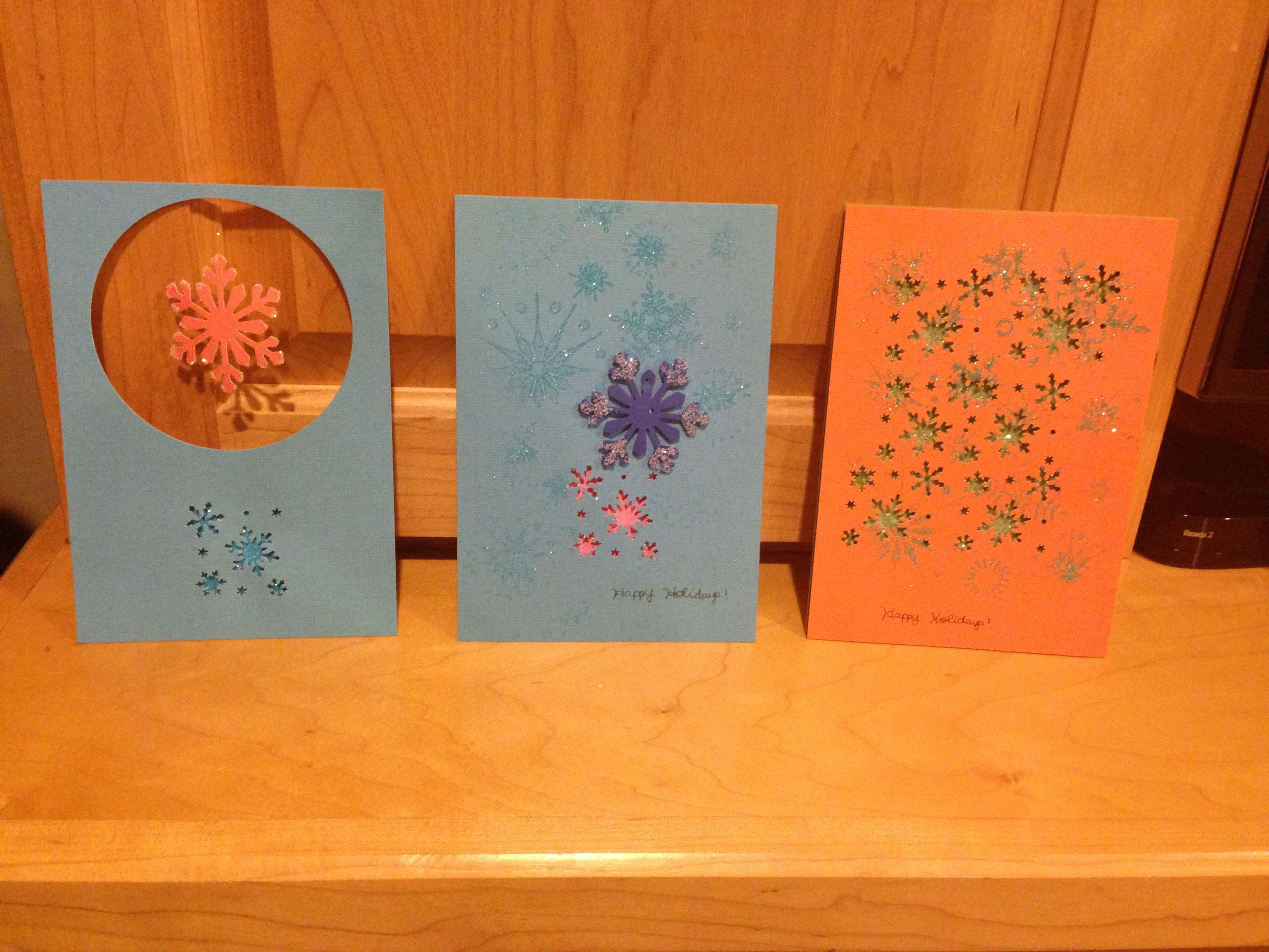 Cindy's handmade holiday cards