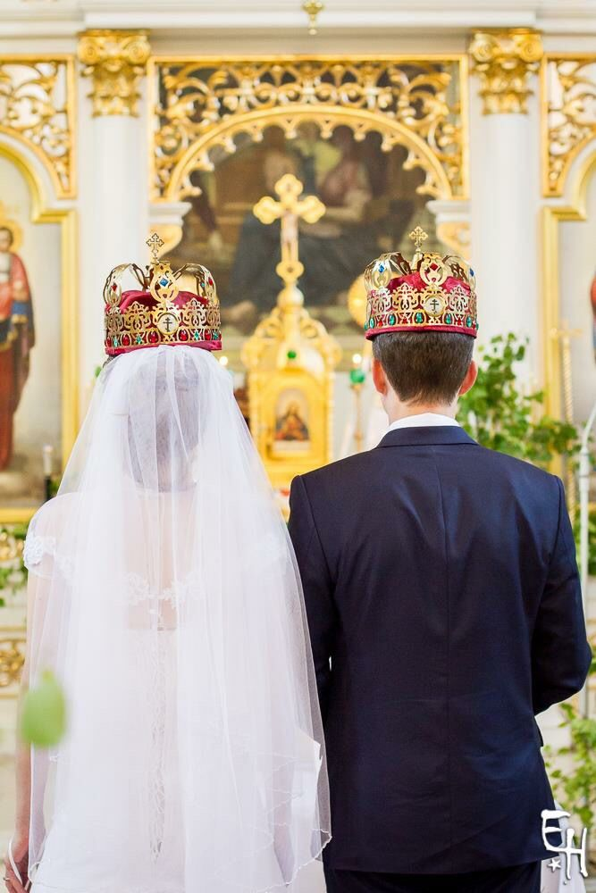 A Byzantine Catholic Wedding From Https Www Facebook Com Maria